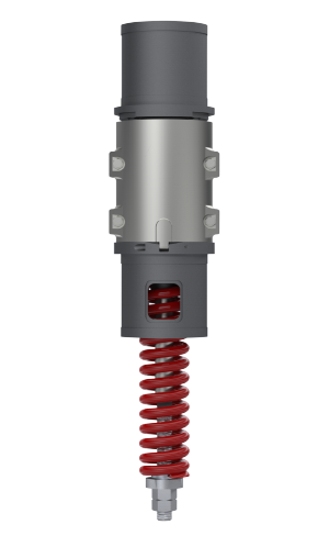 rail lighting and signalling - raise and lower column unit