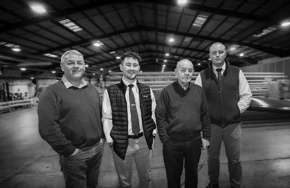 aluminium lighting company ALC - About ALC: 3 generations of ALC