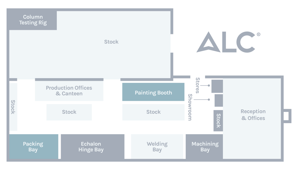 Contact ALC: facility map